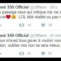 """Rémi Notta (Secret Story 9) : """"Allez tous vous faire enc*ler"""", son gros coup de gueule sur Twitter"""