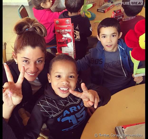 Coralie Porrovecchio (Secret Story 9) au Maroc à la rencontre de jeunes orphelins