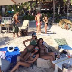 Leila Ben Khalifa : nouvel an sexy et ensoleillé au Mexique
