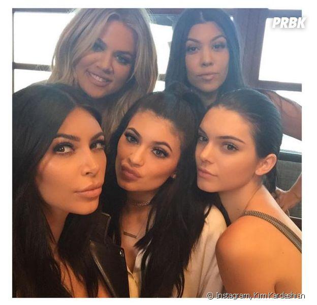 Les soeurs Kardashians et Jenner sont les soeurs-superstars les plus tendances de 2015 selon Stylight