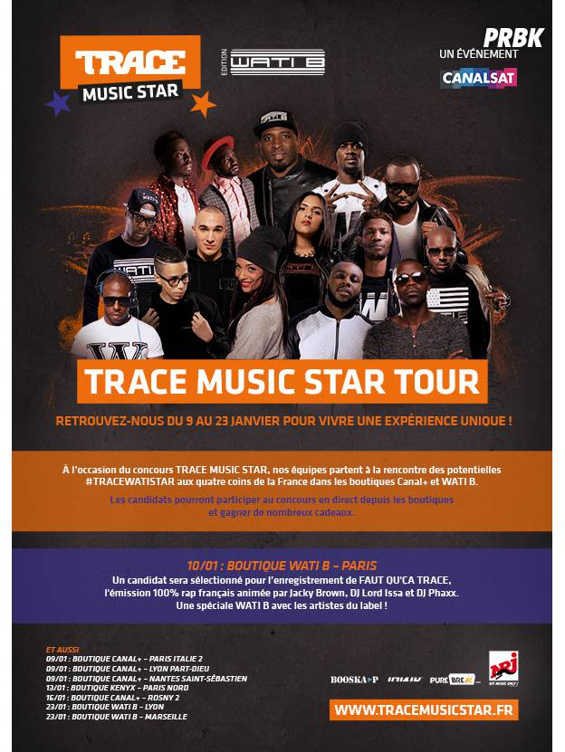 Trace Music Star Tour