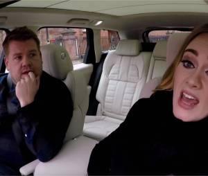 Adele chante les Spice Girls et Nicki Minaj dans le carpool karaoké de James Corden