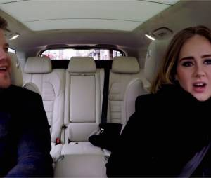 Adele chante les Spice Girls et Nicki Minaj dans le carpool karaoké de James Corden