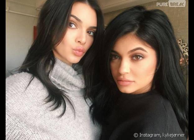Kendall Jenner et Kylie sexy pour teaser leur nouvelle collection de vêtements sur Instagram et Snapchat