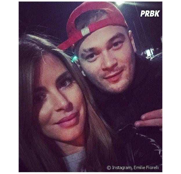Emilie Fiorelli et JUL posent sur Instagram
