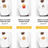 McDonald's : sweats, t-shirts, tasses... la marque lance sa boutique officielle de produits dérivés