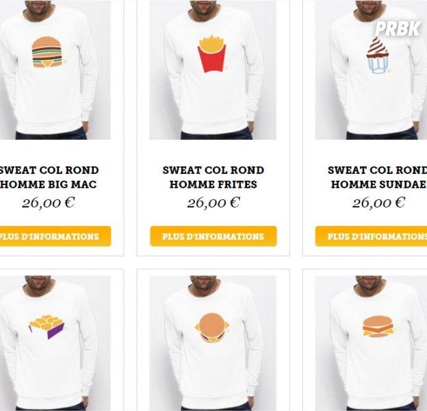 McDonald's lance son e-shop