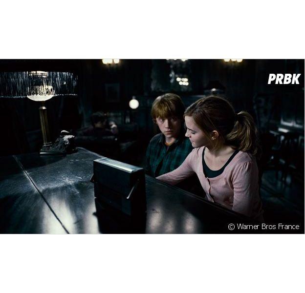Harry Potter : Rupert Grint se confie sur son bisou avec Emma Watson