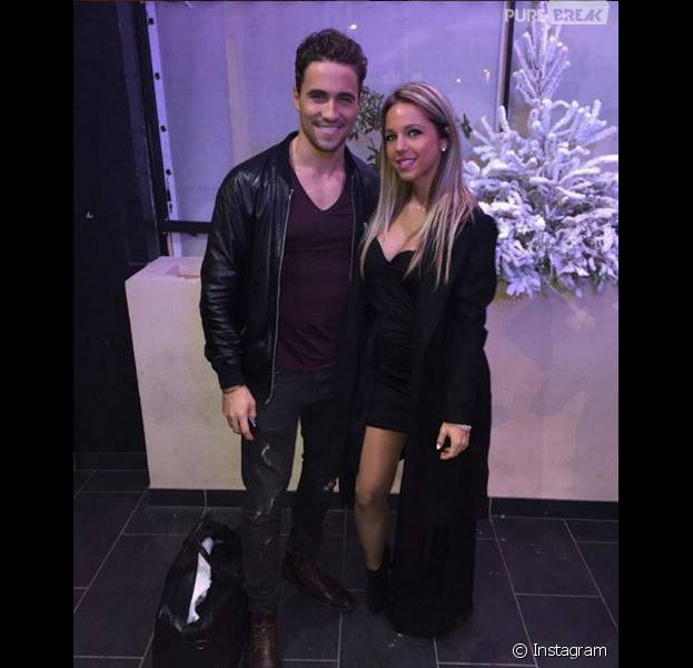 Maddy (Friends Trip 2) et Olivier Dion en photo sur Instagram, en décembre 2016