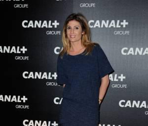 Caroline Ithurbide à la soirée du groupe Canal+, D8, D17 et iTélé à Paris, le 3 février 2016