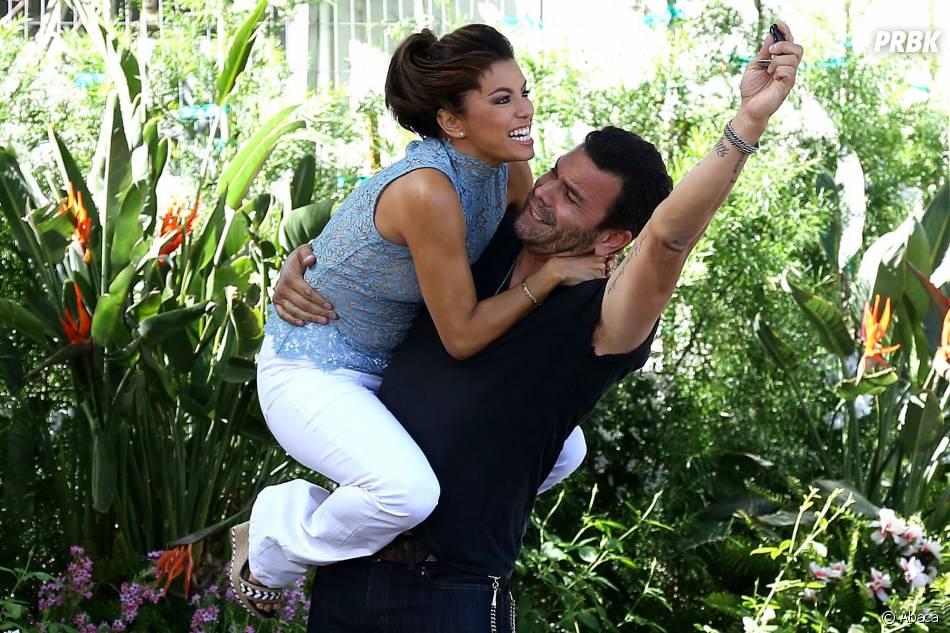 Ricardo Chavira et Eva Longoria sur une photo