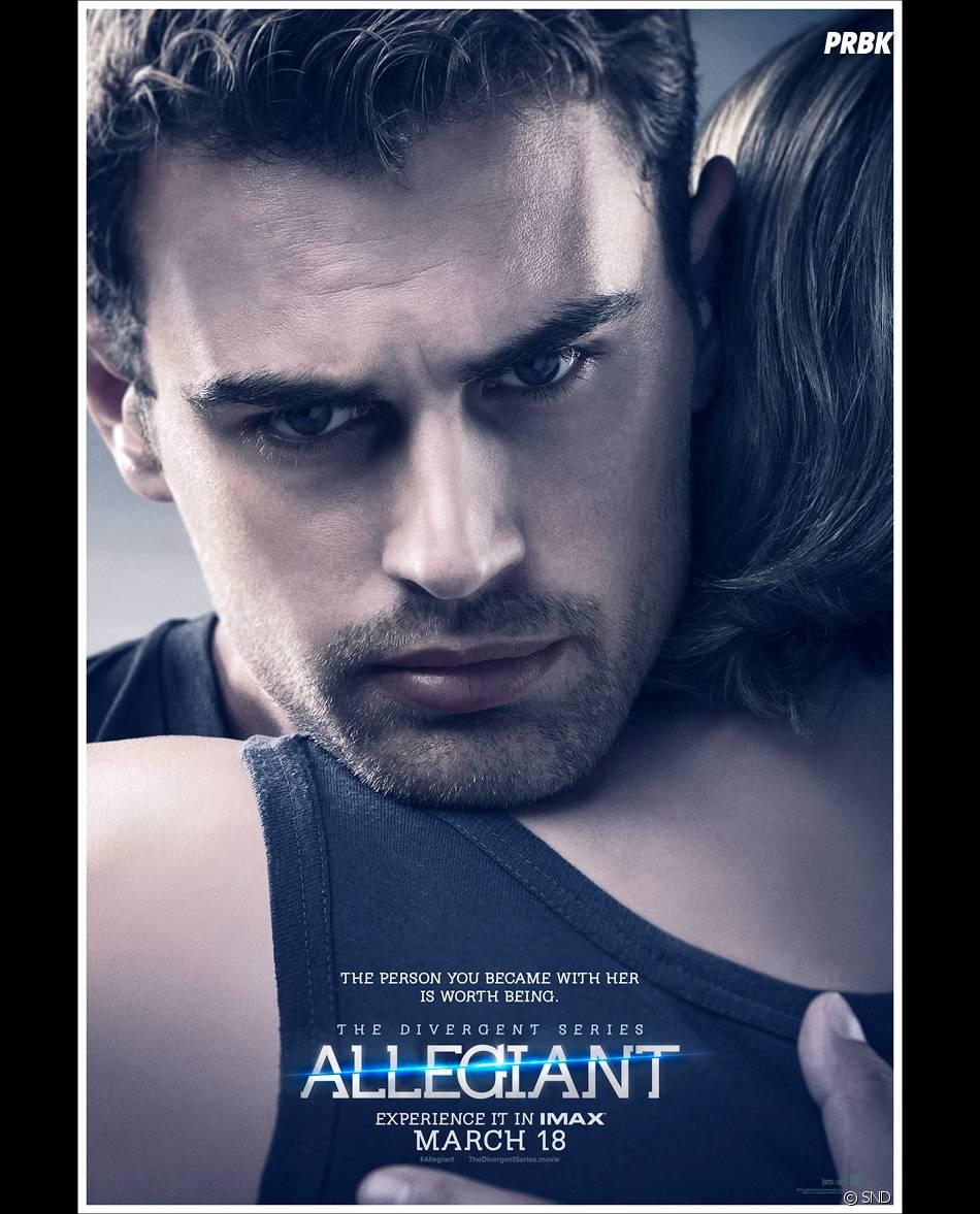 Divergente 3 : Theo James sur une affiche