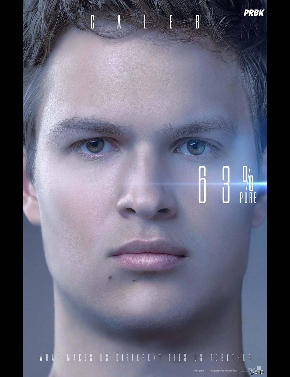 Divergente 3 : Ansel Elgort (Caleb) sur une affiche