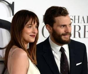 Fifty Shades of Grey : Dakota Johnson et Jamie Dornan à l'avant-première en février 2015