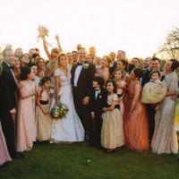 Taylor Swift demoiselle d'honneur de sa meilleure amie : photo de mariage sur Instagram