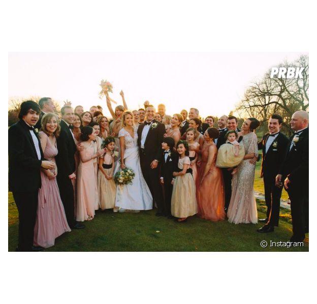 Taylor Swift au mariage de sa meilleure amie Britany Maack, le 20 février 2016