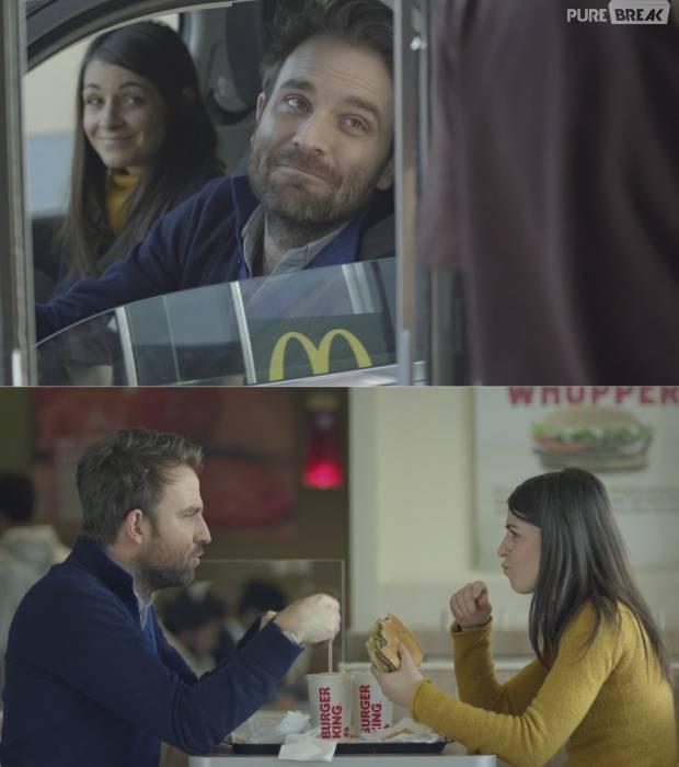 Burger King répond au tacle de Mcdonald's dans une pub
