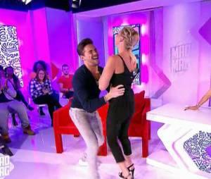 Olivier Dion danse avec Amélie Neten dans Le Mad Mag de NRJ 12