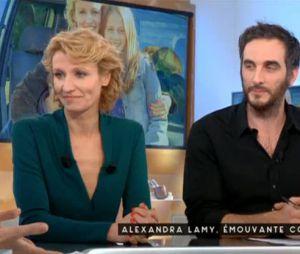 Alexandra Lamy parle d'Après moi le bonheur dans C à Vous