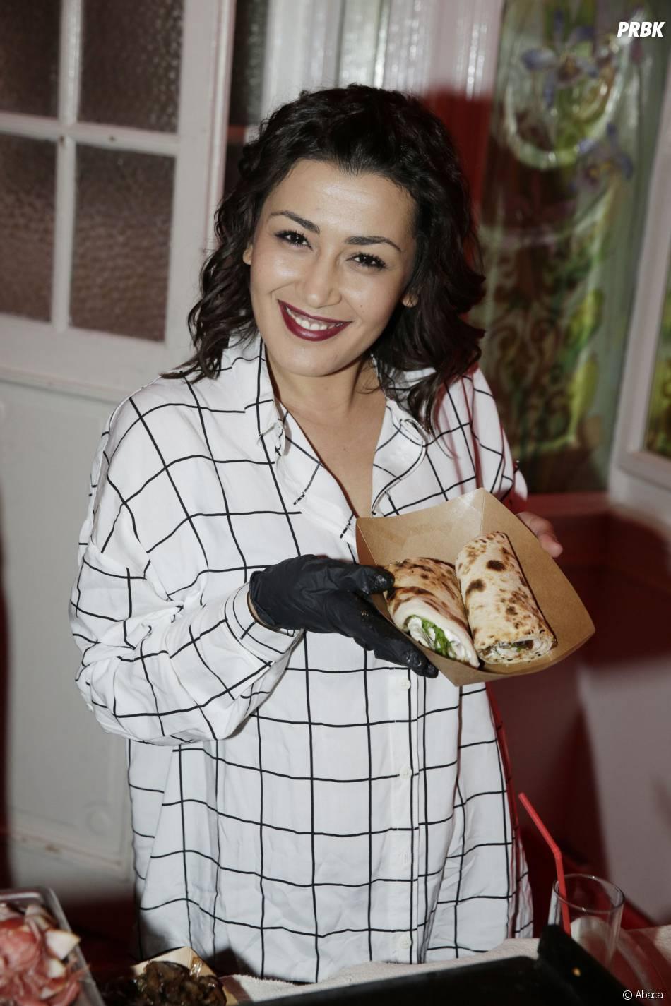 Karima Charni participe à la Street Food Party au profit de l'association Cé ke du bonheur le 11 mars 2016