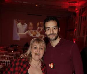 Valérie Damidot et Tarek Boudali participent à la Street Food Party au profit de l'association Cé ke du bonheur le 11 mars 2016