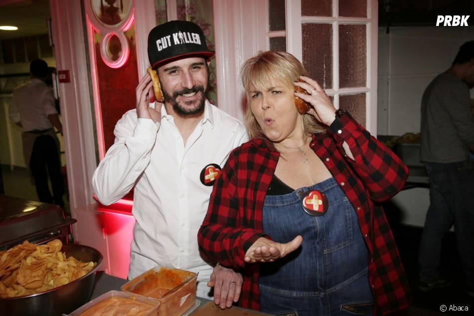 Cartman et Valérie Damidot participent à la Street Food Party au profit de l'association Cé ke du bonheur le 11 mars 2016