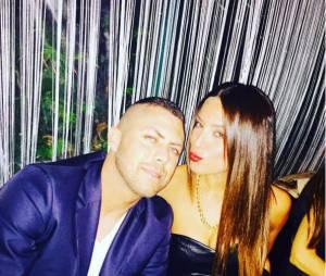 Jérémy Ménez et sa nouvelle petite-amie Francesca, en couple sur Instagram