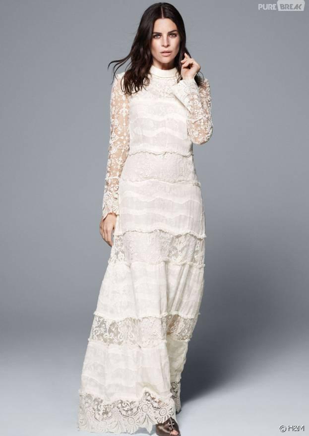 Robe de mariée H&M Conscious Exclusive printemps-été 2016. Courtesy of H&M