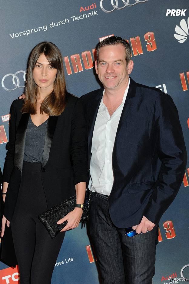 Garou et sa femme Stéphanie Fournier amoureux en 2013
