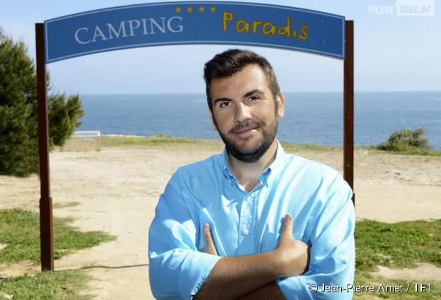 Laurent Ournac n'aime pas revoir les anciens épisodes de Camping Paradis