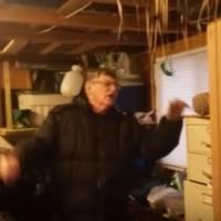 Facile mais efficace : un fils s'amuse à faire peur à son père et compile ses pires réactions