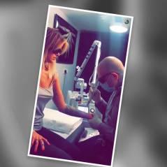Caroline Receveur se fait retirer ses tatouages en direct sur Snapchat : Les images gores
