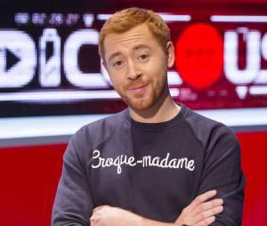JB Goupil qui animait les coulisses de The Voice 5, à la tête de l'émission Ridiculous Made in France sur MTV.