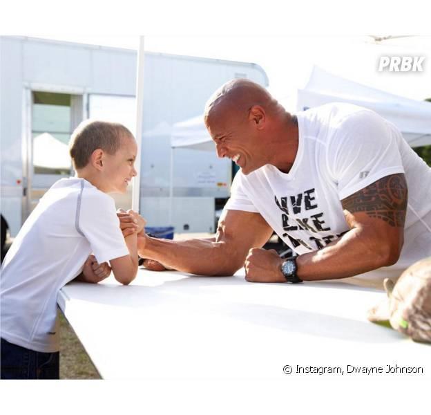 Dwayne Johnson : sa rencontre émouvante avec Tater, 7 ans