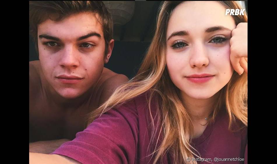 Chloé Jouannet, la fille d'Alexandra Lamy, en couple avec l'acteur  Zacharie Chasseriaud d'après ses posts Instagram.