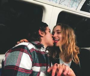 Chloé Jouannet (la fille d'Alexandra Lamy) et Zacharie Chasseriaud, in love sur Instagram.