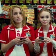Lily Rose Depp et Johnny Depp attaqués par des monstres saucisses pour un film
