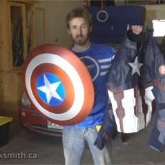 Captain America : un YouTubeur réinvente son bouclier et c'est impressionnant
