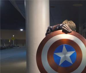 Captain America : The Hacksmith réalise son bouclier