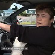 Une conductrice s'énerve sur son chien en pleine interview pour le JT