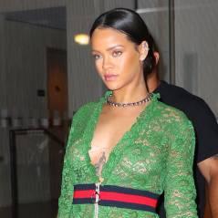 Rihanna seins et fesses à l'air : sa robe transparente montre TOUT