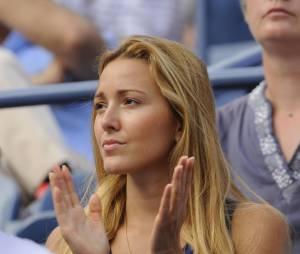 Novak Djokovic : sa femme Jelena Ristic dans les gradins