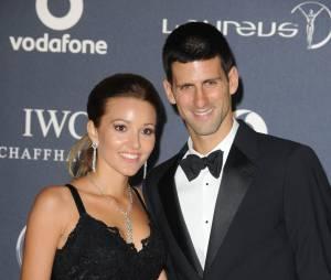 Novak Djokovic : sa femme Jelena Ristic lors d'une soirée