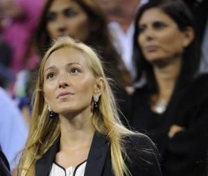 Novak Djokovic : sa femme Jelena Ristic l'encourage lors d'un match