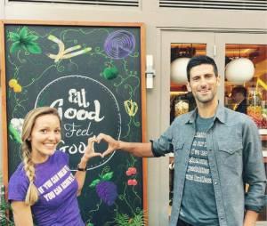 Novak Djokovic et sa femme Jelena Ristic complices sur Instagram
