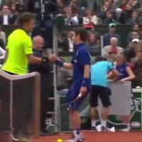 Stan Wawrinka (Roland Garros 2016) réalise le rêve d'un ramasseur de balles