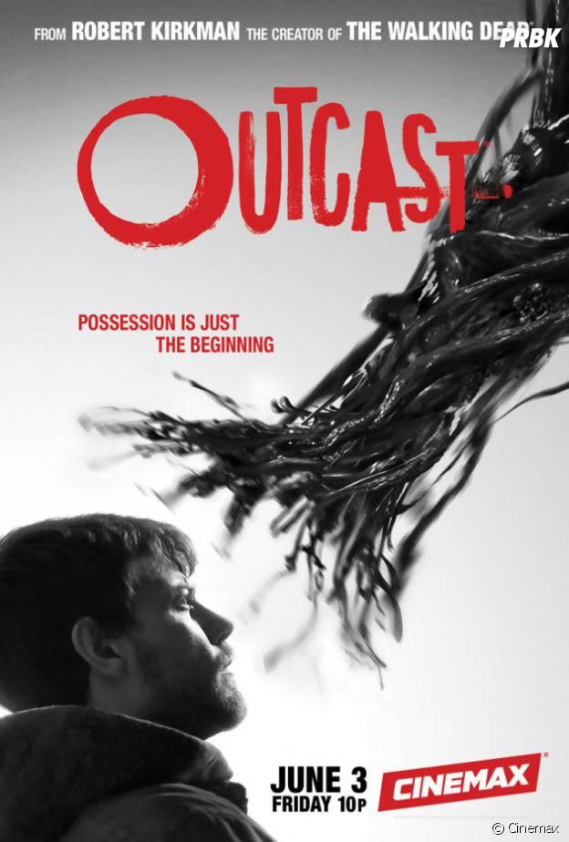 Outcast : poster de la série.