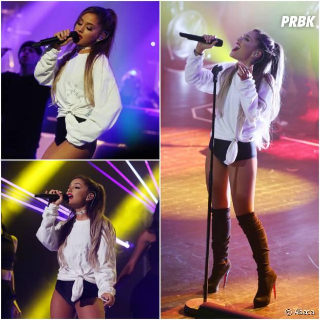 Ariana Grande sur la scène du Trianon le 8 juin 2016