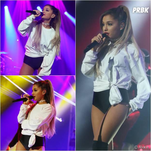Ariana Grande enflamme la scène du Trianon