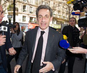 Cyrille Eldin habitué aux interviews d'hommes et femmes politique, comme ici, avec Nicolas Sarkozy pour Le Supplément